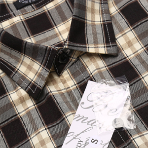 men's short sleeve plaid shirts