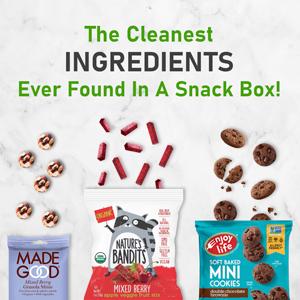 clean ingredients vegan snack pack