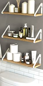 bathroom shelves wall mounted bathroom décor sets holder wooden shelves for bathroom storage shelf