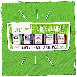 FreshJax Smoked Spices Gift Set In Box