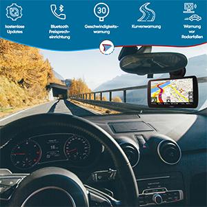 Elebest City 70a Navigationsgerät 7 Zoll Display 17 8cm Touchscreen 24gb Speicher Für Pkw Lkw Wohnmobil Gps Navi Freisprecheinrichtung Bluetooth Lebenslange Kostenlose Kartenupdate Navigation