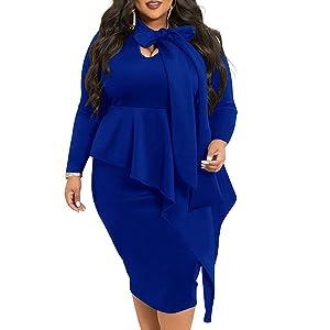 plus size church dress