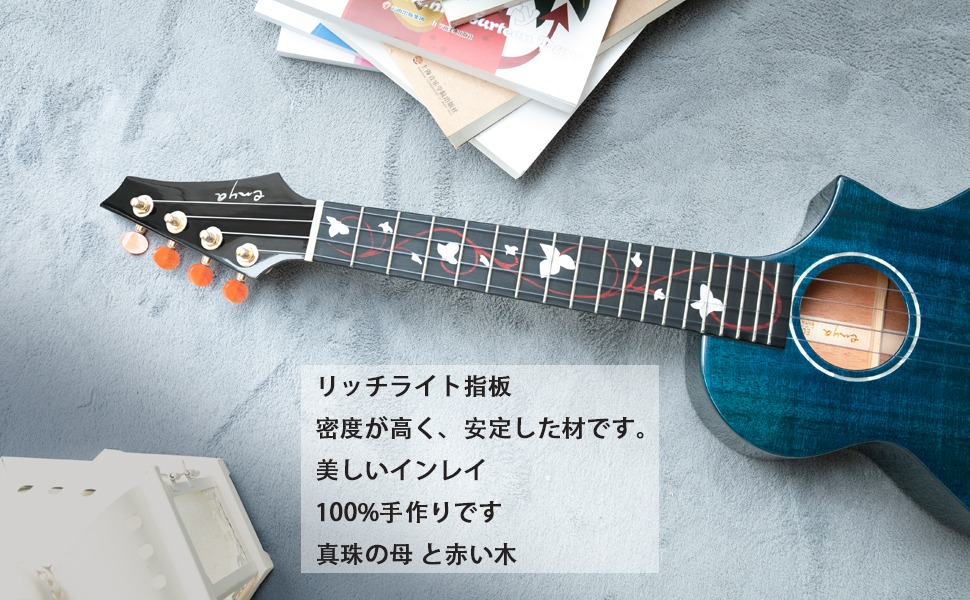 M6 head and fingerboard