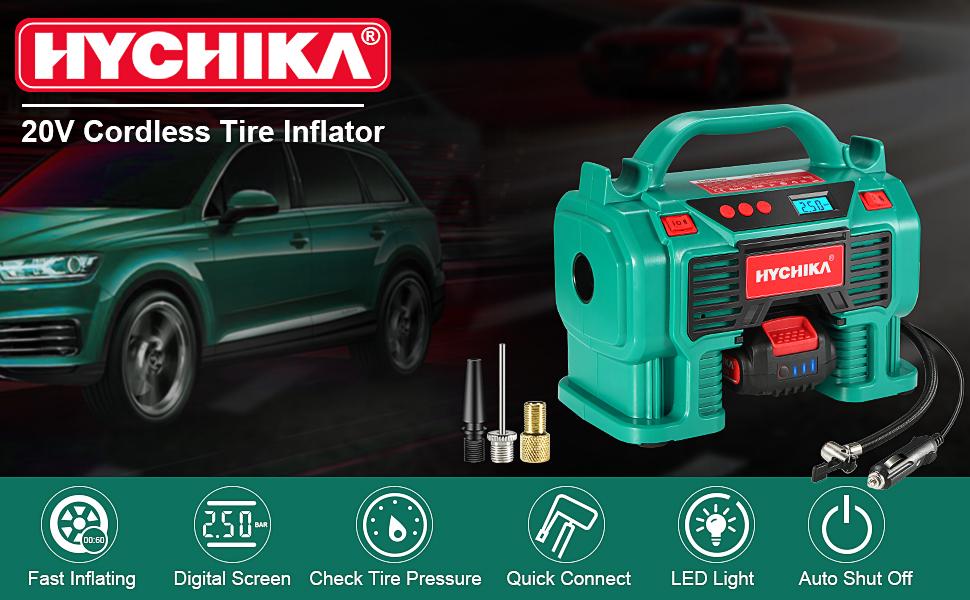 Air inflator tool