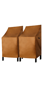 Patio Chair Covers 2 Pack