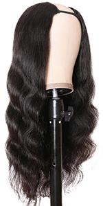 u part body wave wig