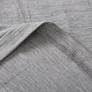 women bamboo viscose short sleeves sleep top full length pants pajamas set soft comfy cool loungwear