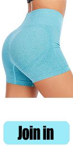 Blue shorts 2