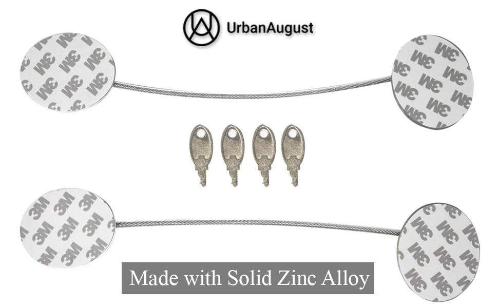 Urban August Adhesive Metal Lock
