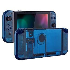 eXtremeRate Carcasa Transparente para Nintendo Switch Funda ...