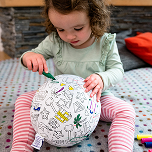 Colour in Toy - Colouring Play with BubaBloon Travel Colour In Washable Markers Toy
