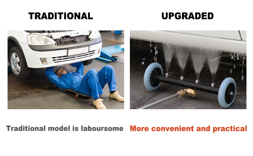 Pressure Washer Undercarriage Cleaner
