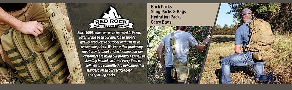 Red Rock Outdoor Gear - Tactical Packs
