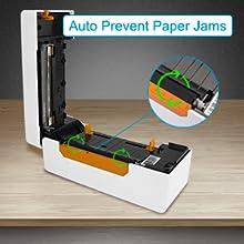 Prévention automatique des bourrages papier