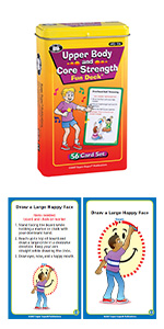 Upper Body and Core Strength Fun Deck Occupational Therapy Super Duper Publications