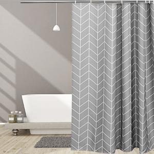Geometric Shower Curtain