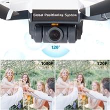 1080P 120° FOV 90° Adjustable HD Camera
