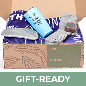 sympathy gift box care package sympathy blanket