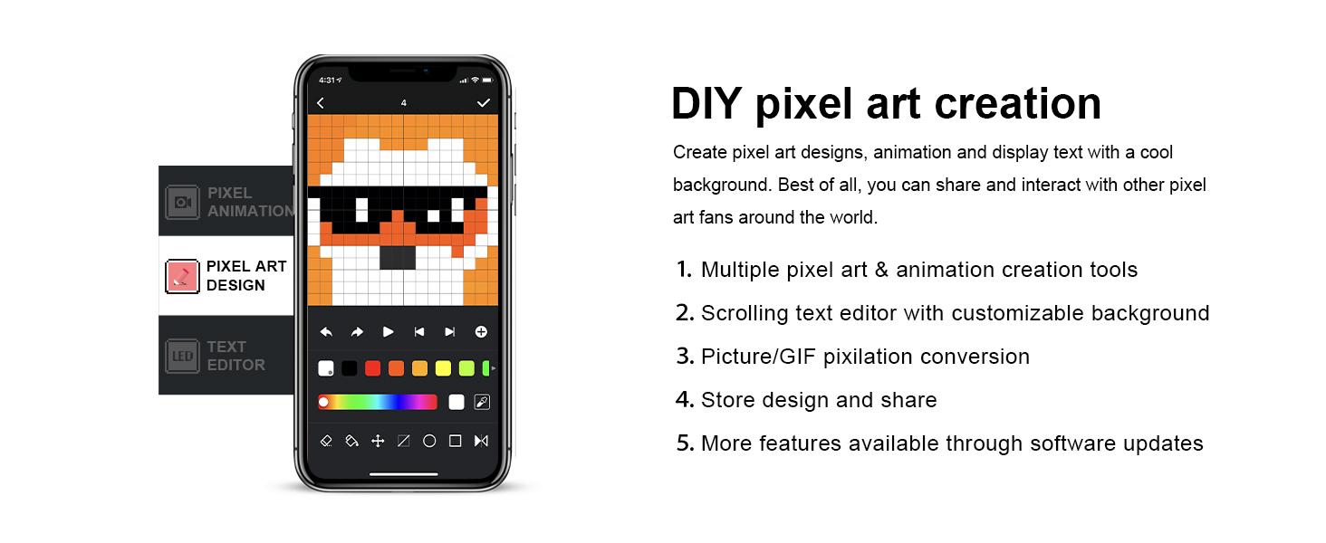 DIY Pixel art