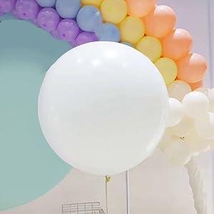 11pcsJumbo Bing Balloons Cartoon Black Super Foil Helium Latex Balloon party