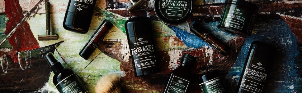 Montana Natural Shave Company Natural Shave Products