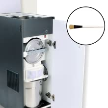 Viva  Aata Chakki Gharghanti Automatic Domestic Flourmill without Vacuum Red Matte SPN-FOR1