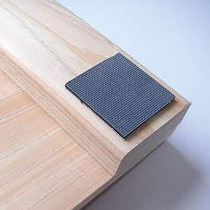 KODAI  Hinoki Bath Mat Non Slip Wooden AntiSlip Rubber Bathtub Mat