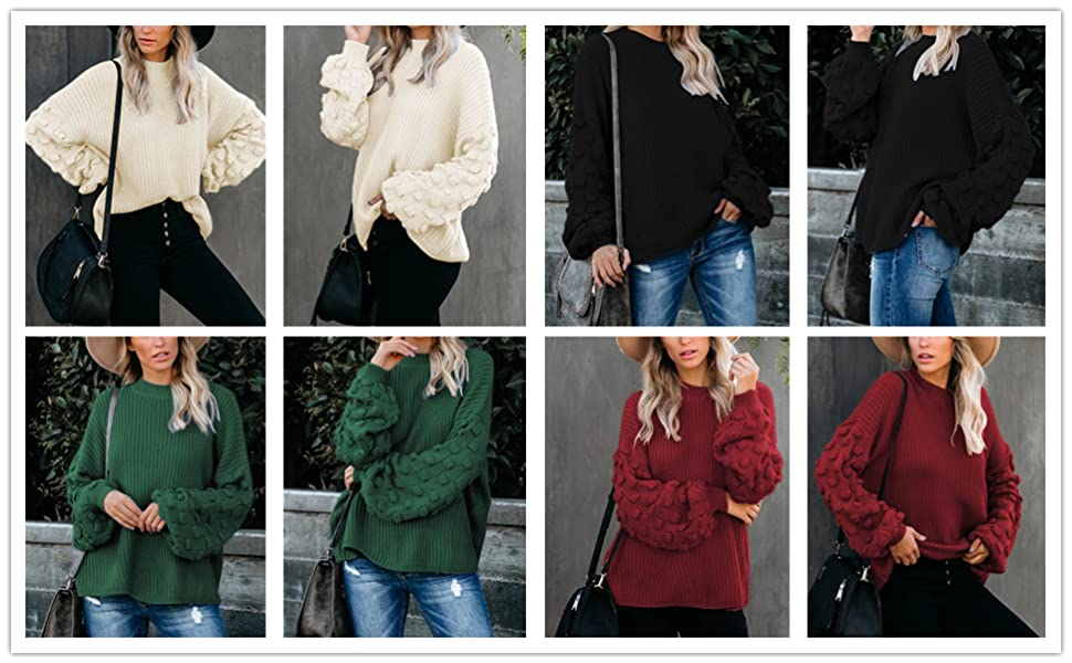 oversized pullover sweater
