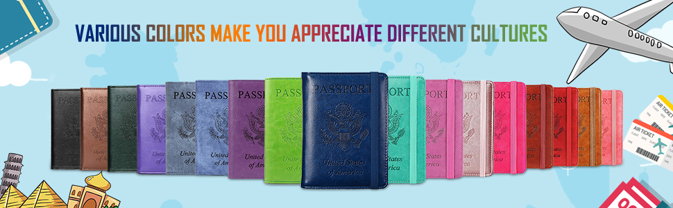 herriat passport holder cover wallet case  more colors choice