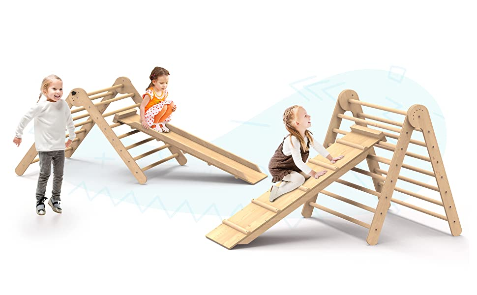 small playground sets Children Toy Playset playground toys climbing kids Step triangle