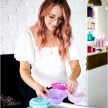 hair color highlighting kit brochas para cabello pintar pelo color dye kit bleach hair powder kit