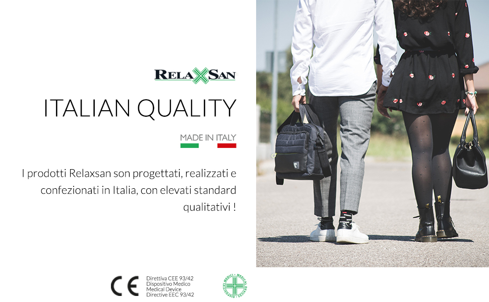 relaxsan calze a compressione graduata made in italy