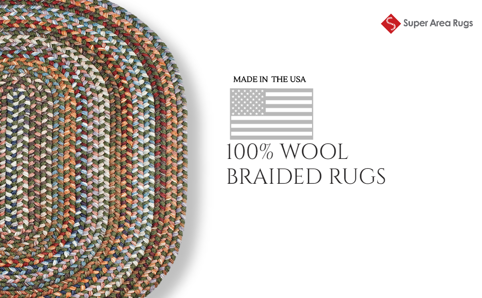 made in the usa braided rugs