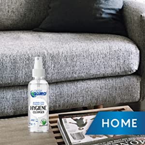 use disinfectant spray in home