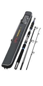 3 piece fishing rod