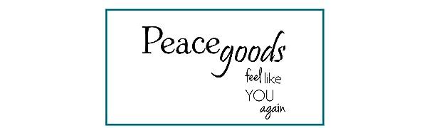 Peacegoods Eye Pillows LOVEwrap neck & shoulder wraps natural calming soothing yoga massage spa usa