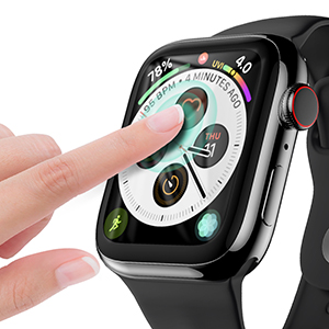 apple watch series 4 44mm case with screen protector