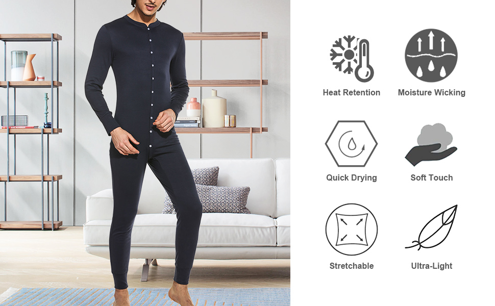 mens thermal union
