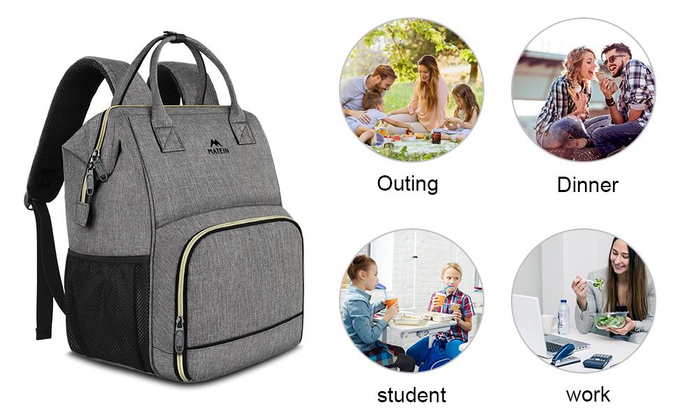 cooler backpack lunch bag