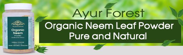Organic Neem Powder Neem Powder azadirachta indica Neem Leaf Powder purify the blood Skin Care