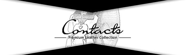 - B08DKZQ5RR- CONTACTS Men's Synthetic Quick Release Buckle Nylon Belt SPN-FOR1