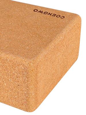 cork yoga block 2 pack