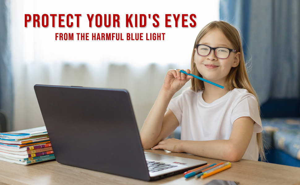 Computer glasses for children