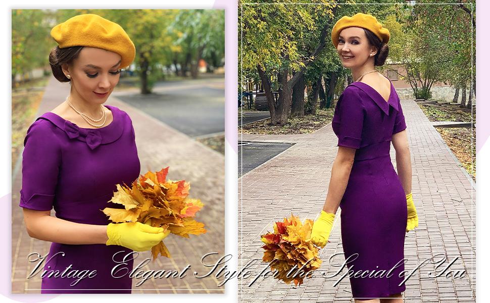 vintage bowknot dress