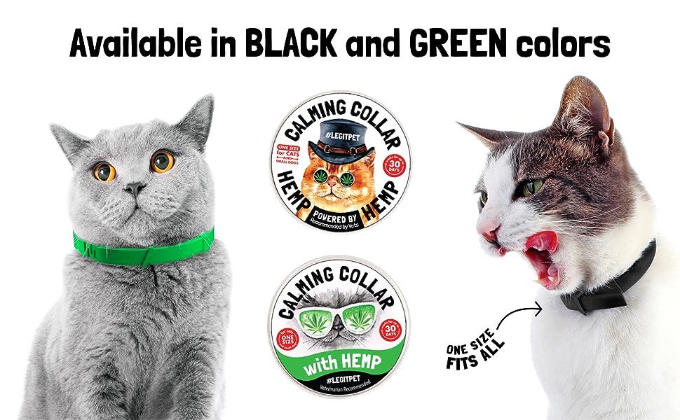 calming cat collar