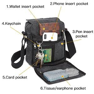 Umhängetaschen Herren Schultertasche Laptoptasche