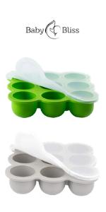 Silicone Baby Food Freezer Storage Trays