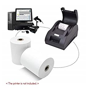 cash register receipt roll labels and stickers amazon tags paper print roll sheet small a machine