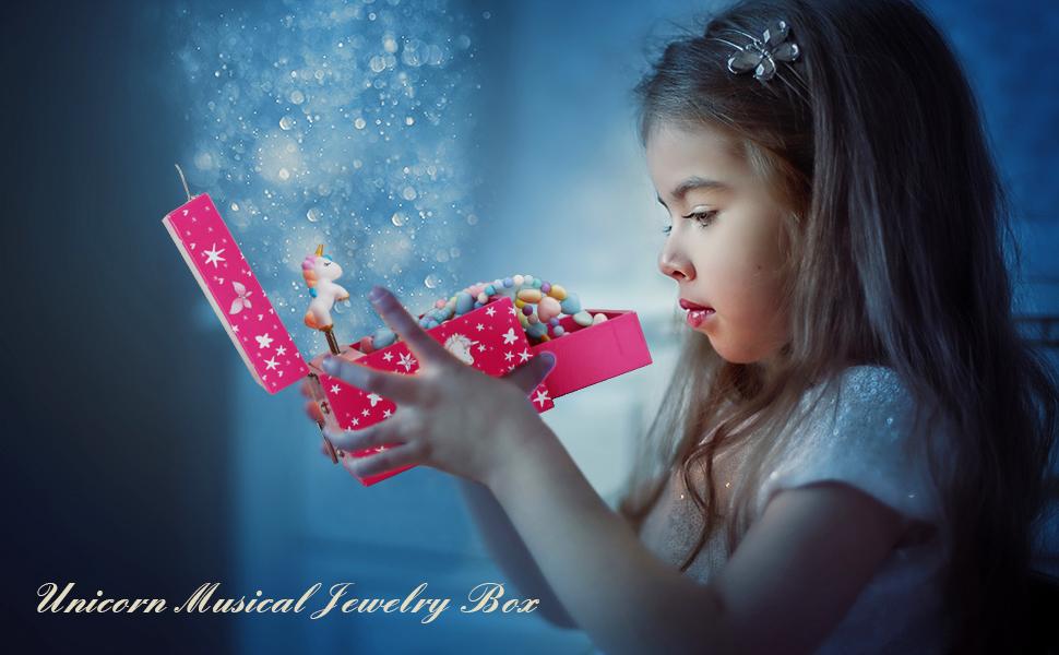 Kid's Musical Jewelry Box