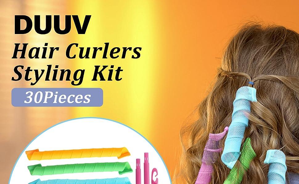 hair curlers wave formers healess hair curlers